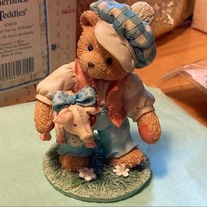 NIB 1993 Cherished Teddies Tom Tom the Piper's Son